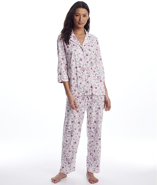 Lauren Ralph Lauren: Pink Floral Knit Pajama Set