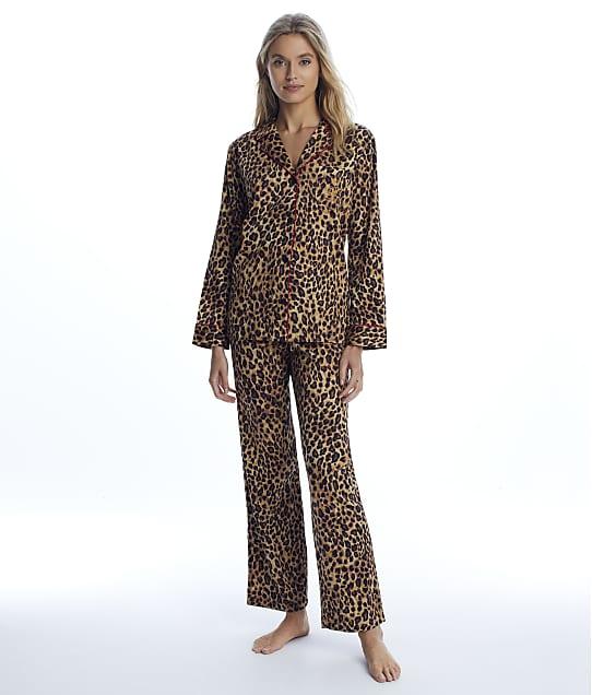 Lauren Ralph Lauren: Leopard Satin Pajama Set
