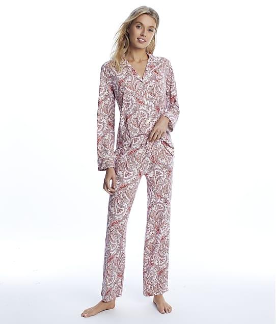 Lauren Ralph Lauren: Red Print Knit Pajama Set