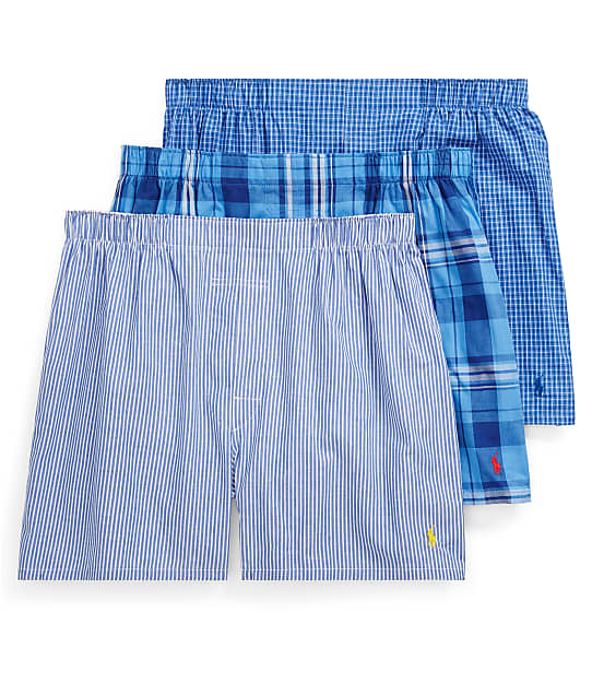 Polo Ralph Lauren: Classic Woven Boxers 3-Pack
