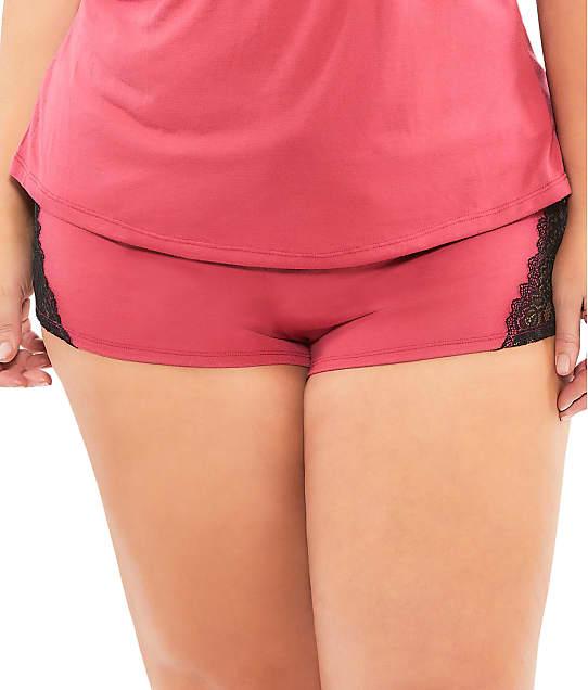 Oh Là Là Chéri  : Plus Size Joyelle Jersey Knit Shorts