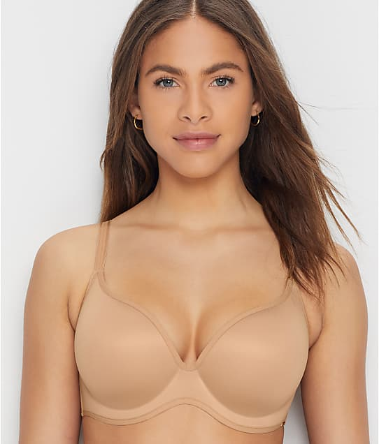 Le Mystère Clean Lines Seamless T-Shirt Bra in Natural 3667