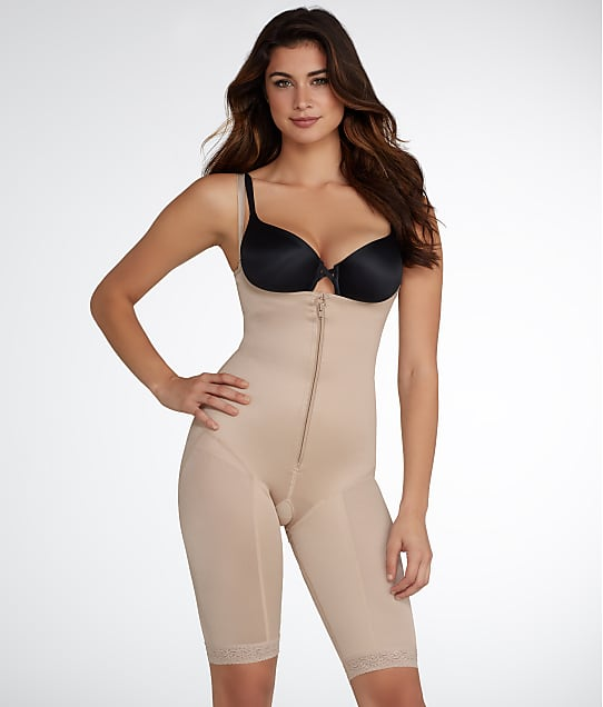 Leonisa: Open-Bust Extra-Firm Control Bodysuit