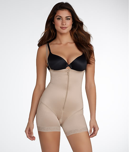 Leonisa: Extra-Firm Control Strapless Open Bust Bodysuit
