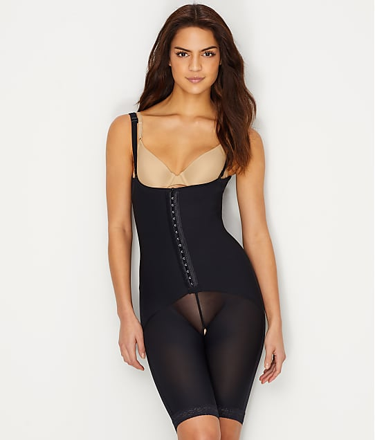 Leonisa: Firm Control Open-Bust Mid-Thigh Bodysuit
