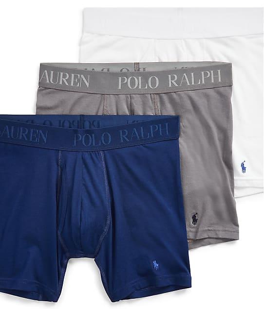 Polo Ralph Lauren: Lux 4D-Flex Cotton Modal Boxer Brief 3-Pack