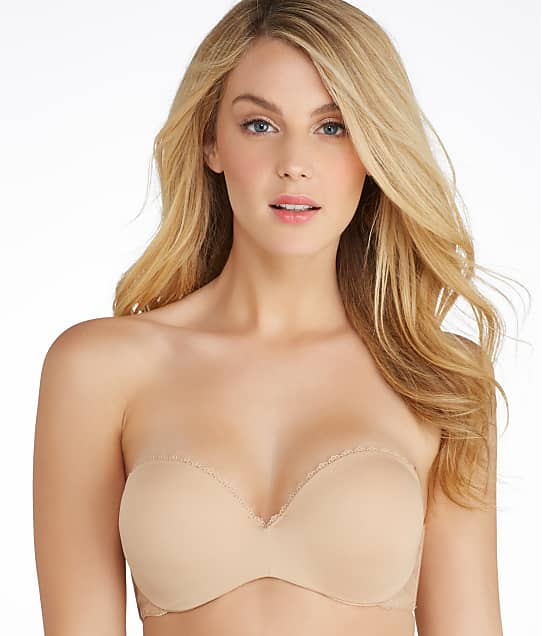 Lily of France: Gel Touch Strapless Push-Up Bra
