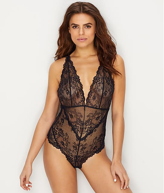 Lily of France: Lace Plunge Bodysuit