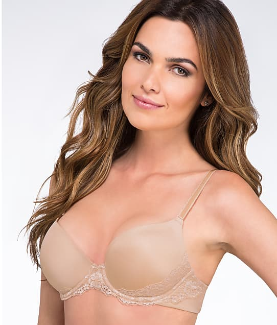 Lily of France: Sensational Lace Push-Up Bra