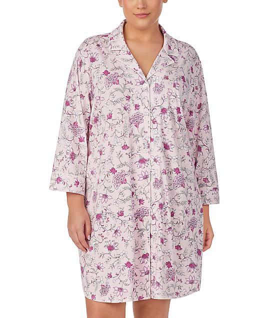 Lauren Ralph Lauren: Plus Size Floral Knit Sleep Shirt