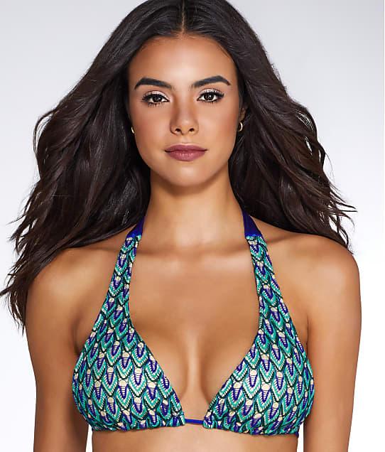 Luli Fama: Blue Kiss Halter Bikini Top