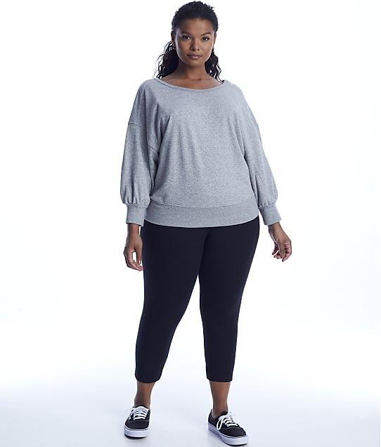 Lyssé: Plus Size Medium Control Flattering Cropped Leggings