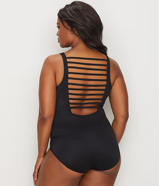 Magicsuit: Plus Size Behind Bars Steffi One-Piece