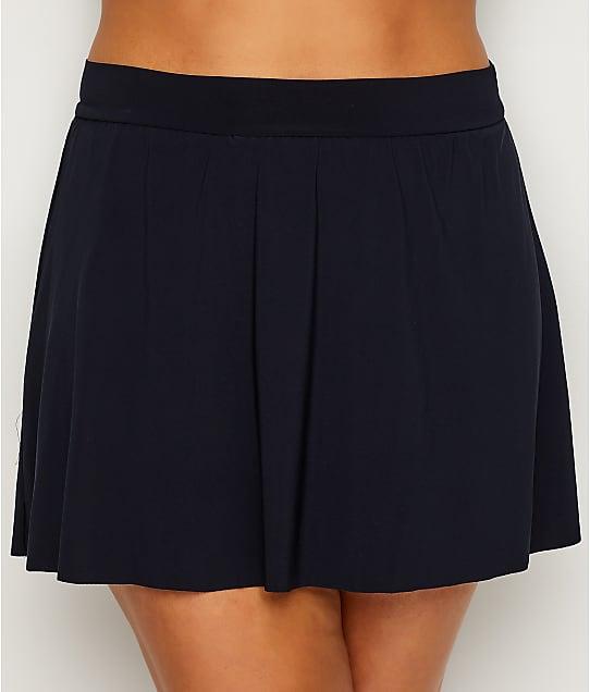 Magicsuit Plus Size Skirted Bikini Bottom in Black 6006071W