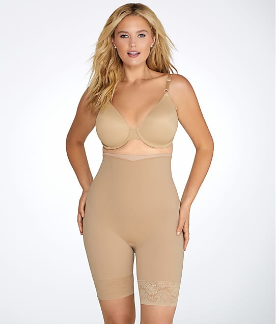 Maidenform: Plus Size Firm Foundations High-Waist Thigh Slimmer