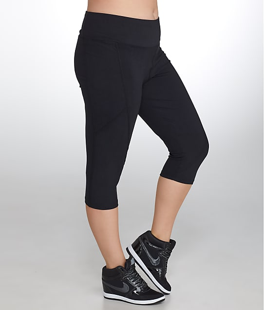 Marika Curves: Plus Size Slimming High Rise Capri
