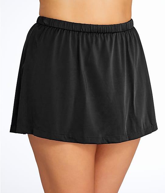Maxine of Hollywood: Plus Size Solid Skirted Bikini Bottom