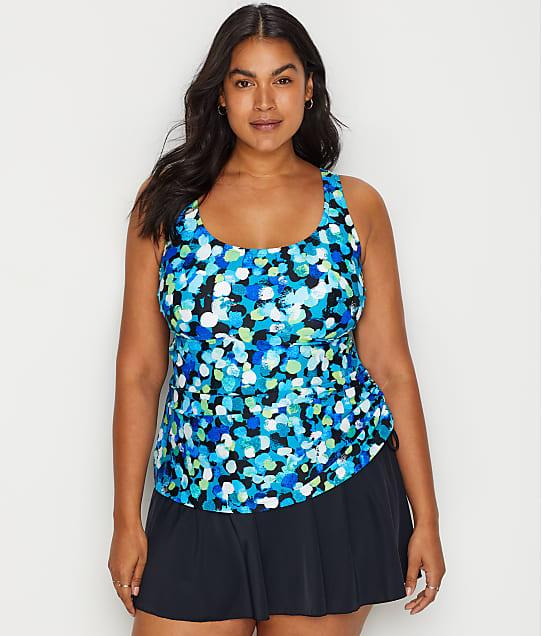 Plus Size Dots A Lot Swim Dress