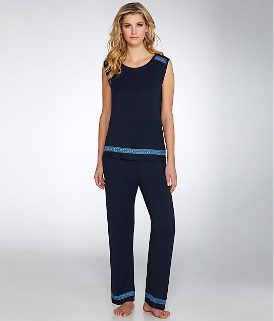 Midnight by Carole Hochman: Knit Pajama Set