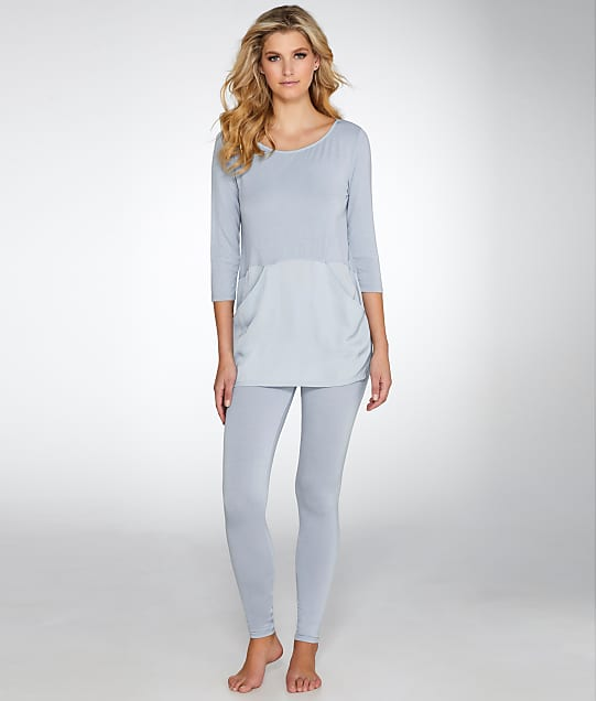 Midnight by Carole Hochman: Long Knit Pajama Set