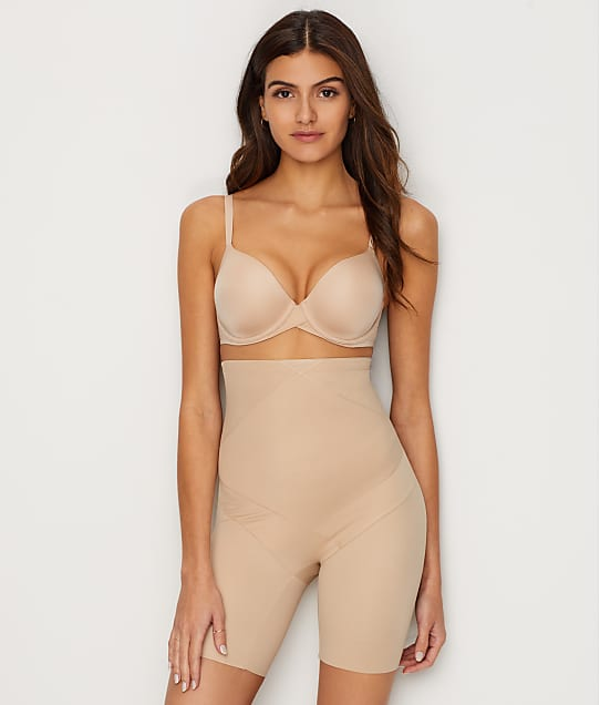 Miraclesuit Tummy Tuck Firm Control Thigh Slimmer in Nude(Front Views) 2419