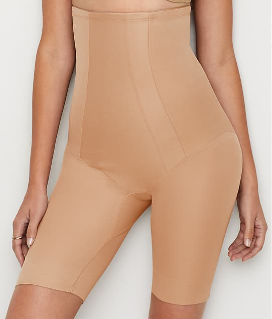 Miraclesuit Extra Firm Control High-Waist Thigh Slimmer in Stucco 2709