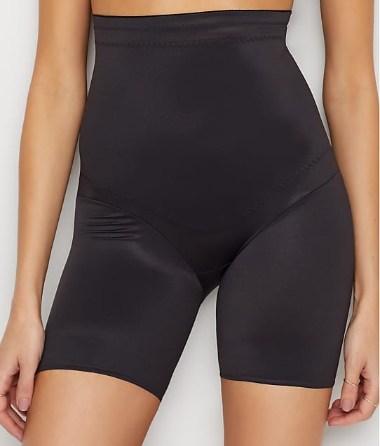 Miraclesuit Flexible Fit Firm Control High-Waist Thigh Shaper in Black 2909
