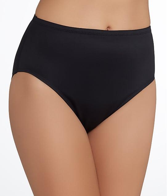 Miraclesuit Solid Bikini Bottom in Black 6516601