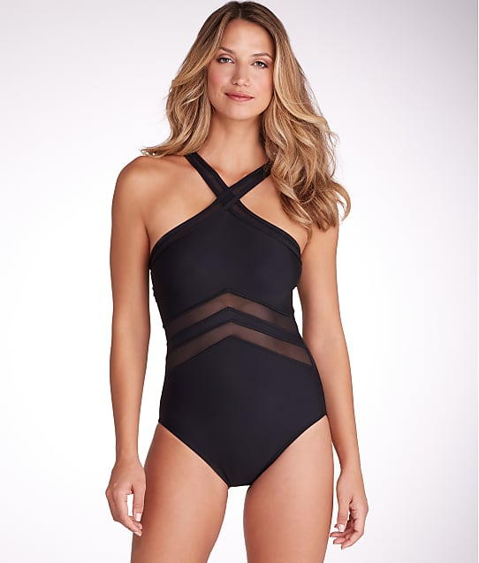 Miraclesuit: Solid Point Of View Wire-Free One-Piece