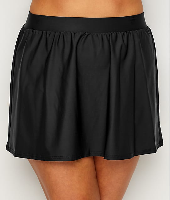 Miraclesuit: Plus Size Solid Skirted Swim Bottom