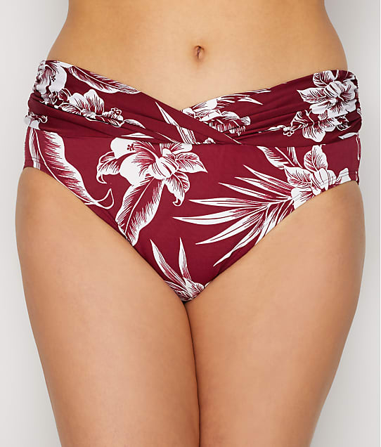 Miraclesuit: Hibiskiss V-Front Bikini Bottom