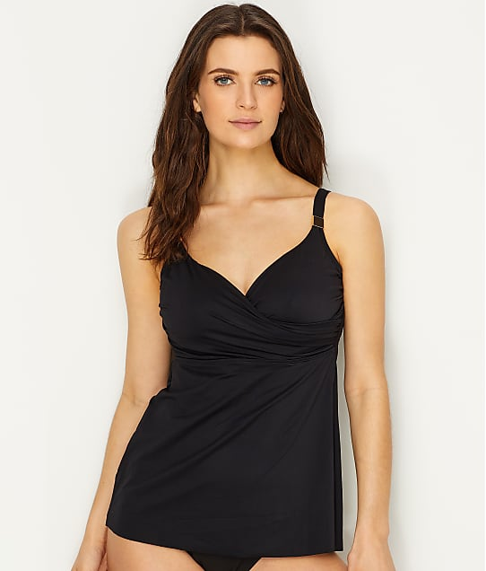 Miraclesuit: Criss-Cross Underwire Tankini Top