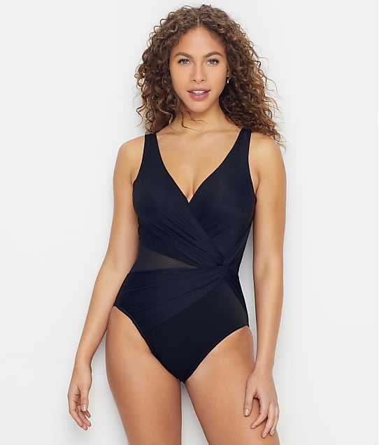 Miraclesuit Illusionists Circe One-Piece in Black 6523038