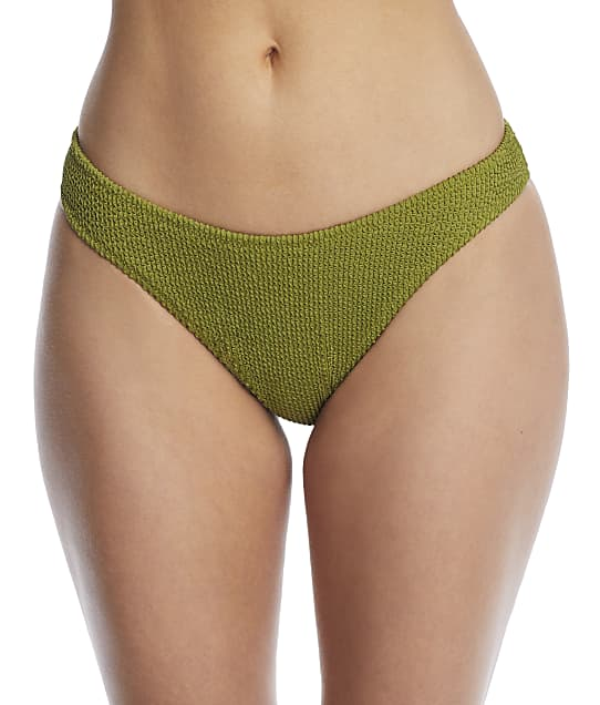 Miss Mandalay Honey Hi-Cut Bikini Bottom in Moss HON05MHL