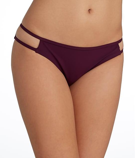 Miss Mandalay Icon Bikini Bottom in Maroon IC03MBB