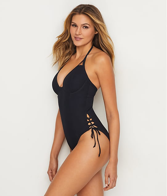 Miss Mandalay: Icon Plunge One-Piece
