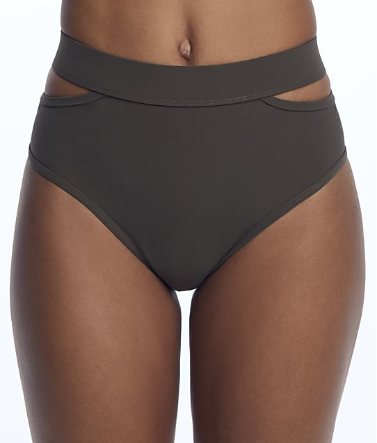 Miss Mandalay: Icon Split High-Waist Bikini Bottom