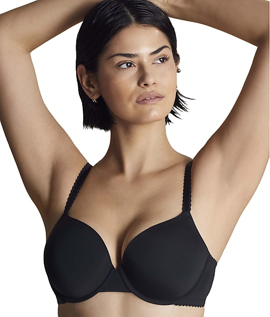 Moi Underwire T-Shirt Bra in Midnight(Front Views) RM0001
