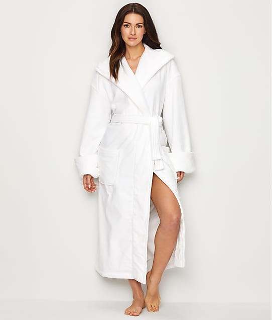 Monarch Cypress: Cotton Terry-Lined Hooded Robe