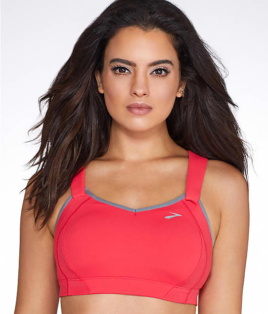 Brooks: Juno Racerback Maximum Control Wire-Free Sports Bra