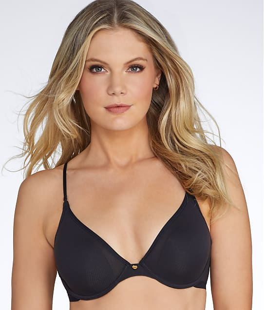 Natori: Understated Plunge Convertible Demi Bra