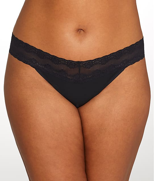 Natori: Plus Size Bliss Perfection Thong