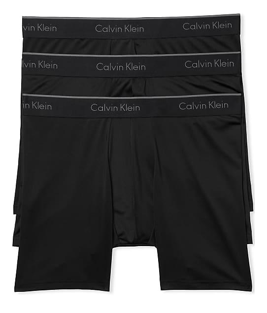 Calvin Klein: Microfiber Boxer Brief 3-Pack
