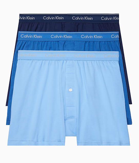 Calvin Klein: Cotton Classics Knit Boxers 3-Pack