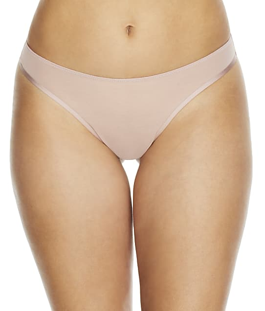 NearlyNude The Sheer Mesh Thong in Pale Mauve(Front Views) RN70010
