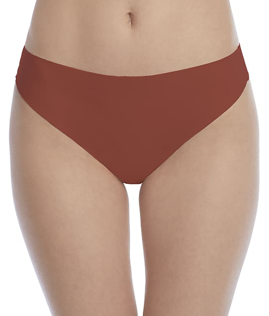 NearlyNude No Show Thong in Cinnamon(Front Views) RNN27