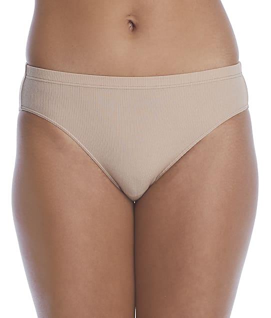 NearlyNude 2x2 Modal Ribbed Bikini in Mocha(Front Views) RNN44