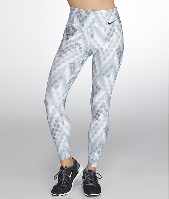 Nike Dri-FIT Power Legend Cropped Tights in Pure Platinum 830477