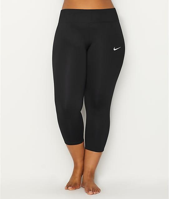 Nike: Plus Size Dri-Fit Cropped Leggings