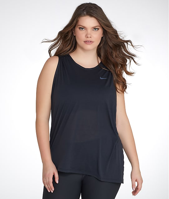 Nike: Plus Size Sleeveless Tank Top